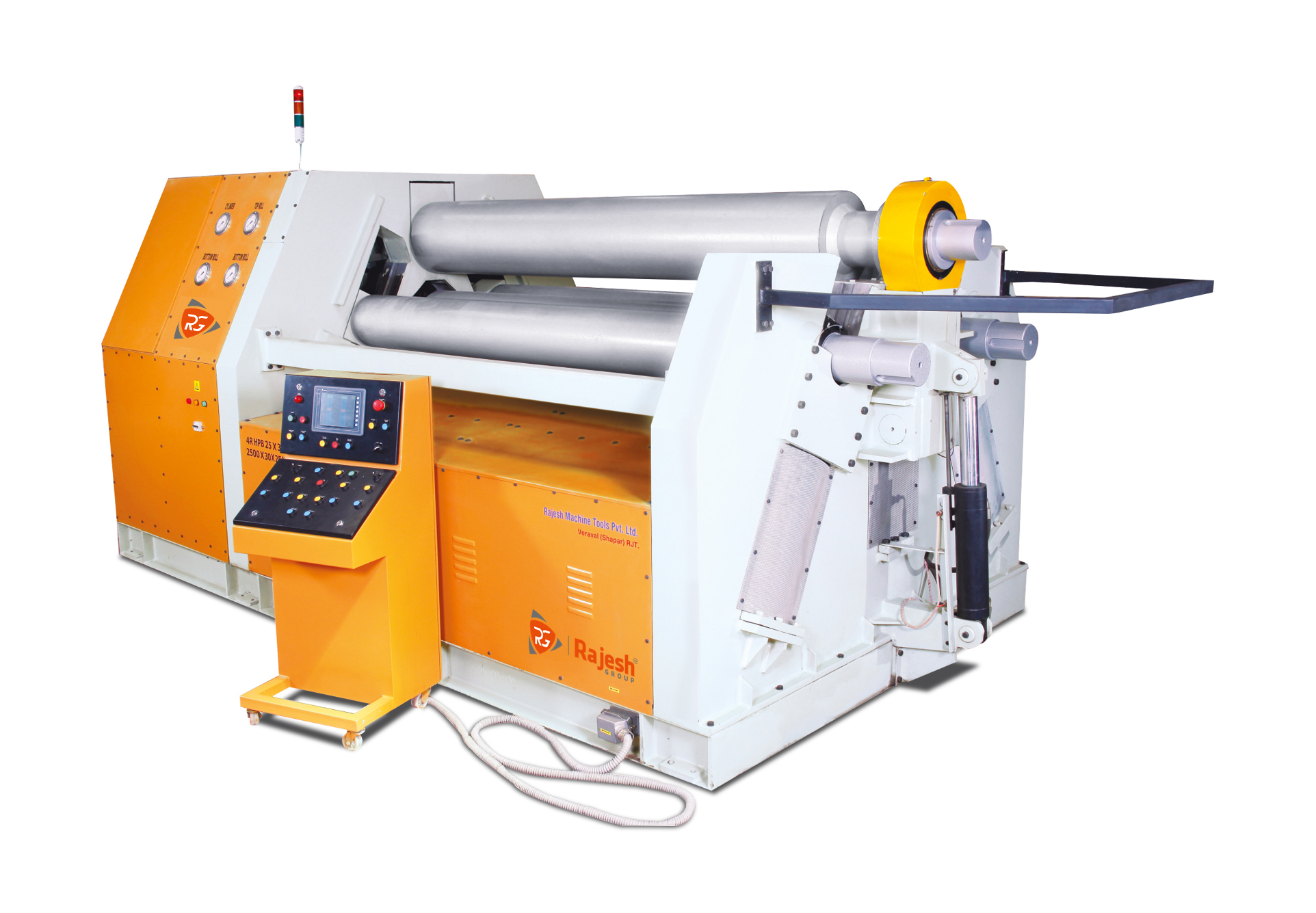 Sheet Metal Hydraulic Plate Rolling Machines