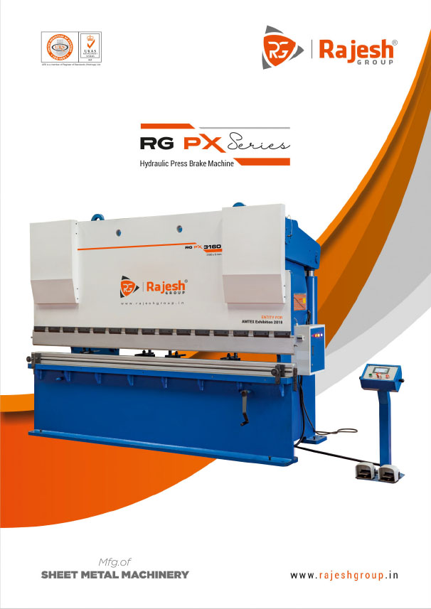 Hydraulic Shearing Machine | Press Brake Machine | Front